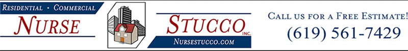 Nurse Stucco Inc. San Diego stucco contractor for over 30 years in all phases of stucco application, stucco refinishing, and stucco repair.